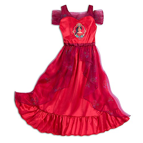 Disney Elena of Avalor Nightgown for Girls Size 4 Red