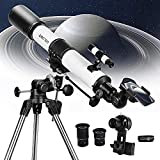 SOLOMARK Telescope, 80EQ Refractor Professional Telescope -700mm Focal Length Telescopes for Adults...