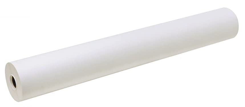 PACON Easel Roll, 24-Inch x 200-Feet, White, (4765)