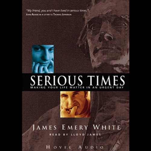 Serious Times audiobook cover art