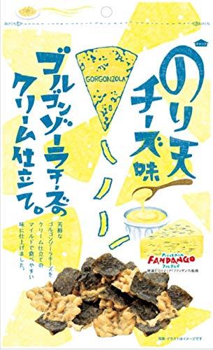 まるか食品 のり天 チーズ味 ゴルゴンゾーラチーズのクリーム仕立て 65g ×12個