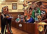 Xykhlj Salón de Zoología_DIY Pintura al óleo de por Números-Lienzo preimpreso-óleo Regalo para Adultos Niños Pintura por Numero Kits Decoración del Hogar_40x50 cm Sin Marco