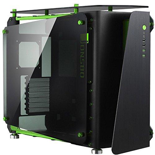 Cooltek Jonsbo JB-MOD1-Mini Black/Green bk mITX