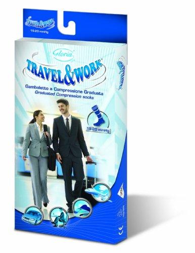 GLORIAMED - Chaussettes hautes - Homme Bleu Bleu marine