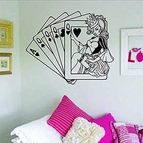 Carte Adesivo murale Interno casa Murales Arte Articoli per la casa Design58X70Cm