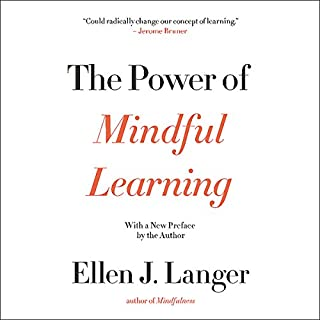 The Power of Mindful Learning audiobook cover art