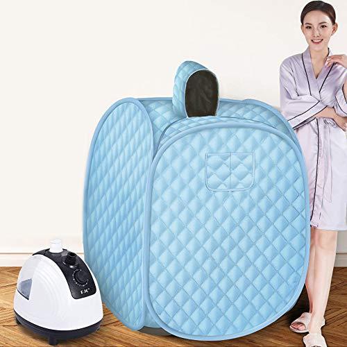 Stoomsauna, draagbare zweetstomer sauna machine met 2L stoomgenerator persoonlijke SPA sauna cabine
