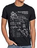 style3 74-Z Moto deslizadora Camiseta para Hombre T-Shirt Fotocalco...