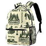 Mochila de viaje duradera de 30,48 cm, mochila escolar de viaje, mochila universitaria para hombres y mujeres, abstracta