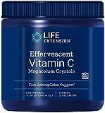 Life Extension La Vitamina C Efervescente Magnesio Cristales - 180G 240 g