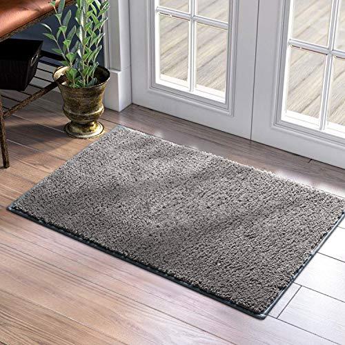 HOMEIDEAS Super Absorbent Front Door Mat Indoor, 24'x36', Non Slip,...