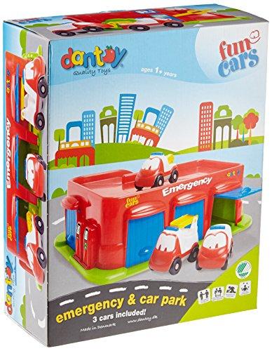 Dantoy Fun Voitures d'urgence et Parking