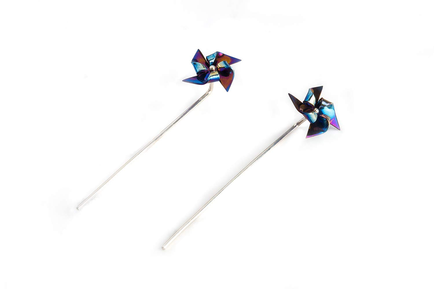 Largentolab Pinwheel Al Max 53% OFF sold out. earrings Galaxy minimal stud win