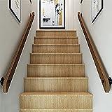 Barandilla de escalera, soporte de pared robusto antideslizante interior pasamanos para escaleras de pared para personas mayores corredor de seguridad pasillo varilla de apoyo