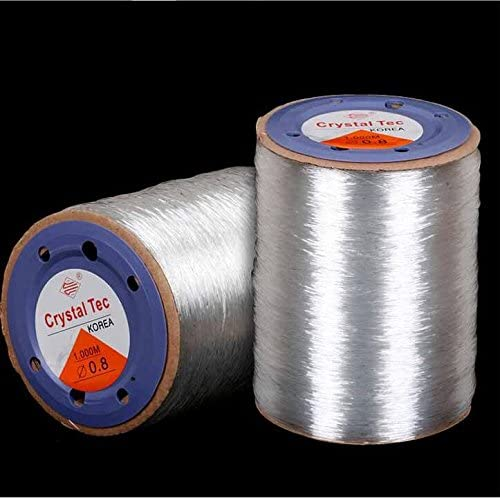 KangYuan 1000 M 3280 ft roll Beading Crystal Ranking TOP8 OFFicial site Stretch Clear Tec
