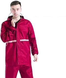 BGROESTWB Snow Rainwear Waterproof Jacket Reflective Raincoat Road Outdoor Raincoat Multifunction Outdoor Cycling (Color :...