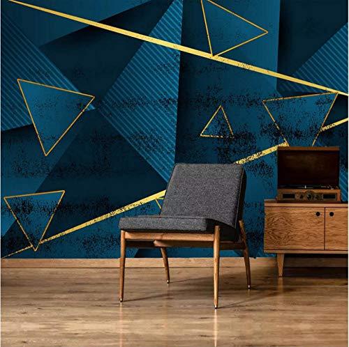 Simplicidad moderna personalizada Papel tapiz fotográfico 3D Mural geométrico abstracto Sala de estar Sofá Dormitorio TV Fondo Mural de pared Decoración hogareña