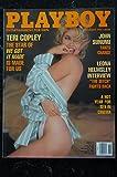 PLAYBOY US 1990 11 TERI COPLEY JOHN SUNUNU Lorraine Olivia Leona Helmsley