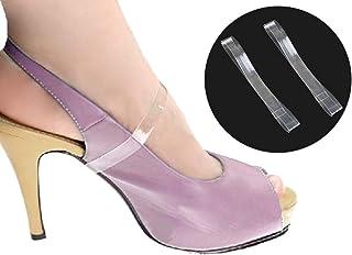 3nh 3Pair Women Transparent Detachable Shoe Straps Anti-Loose Shoelace Accessories for High Heels