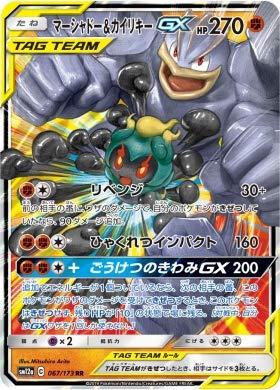 Pokemon TCG/Marshadow & MachampTag Team GX (RR) / Tag All Stars (SM12a-067) / Japanese Single Card