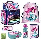 Familando Sirenetta Mermaid Princess of The Sea Magic Set di 7 borse da ginnastica per ragazze