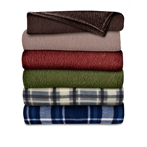Sunbeam Throw Blanket | Fleece, 3 Heat Settings, Assorted - THF8QA-R001-31A00
