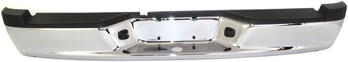 CH1103114 MBI AUTO Steel Rear Step Bumper Assembly for 2005-2011 Dodge Dakota Pickup 05-11 Primered