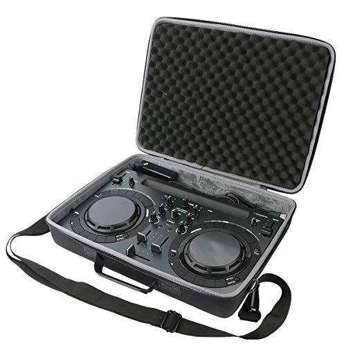 co2CREA Hart Tasche mit Schultergurt Für Pioneer DJ DDJ-WeGO4-K / wego3 / Pioneer DJ DDJ-200 Smart DJ-Controller (Nur Hülle)