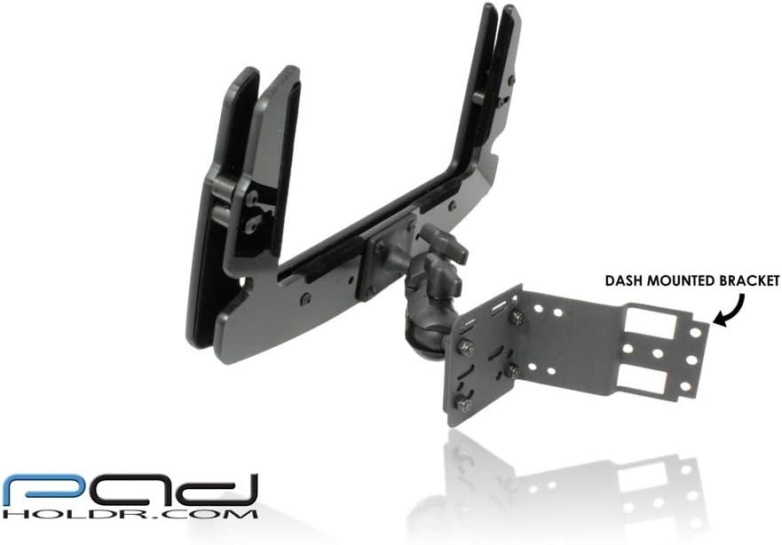 Padholdr Edge Series Premium Tablet Dash Kit for 98-02 Dodge Ram Heavy Duty 2500HD and 3500HD Pad Holdr PHE75106-194-2