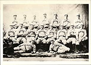 New York Baseball Club, 1894 New York Original Vintage Postcard