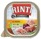 Rinti Kennerfleisch Hundefutter Huhn & Naturreis 300 g, 9er Pack (9 x 300 g)