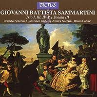 Giovanni Battista Sammartin: Trio Sonatas