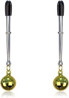 GCMDZ Nipple Rings Dangle Non Pierced Stainless Steel Faux Body Piercing Jewelry Attachable Chain GCMDZ