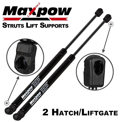 Maxpow 2Pcs SG314044 Rear Hatch Liftgate Tailgate Lift Supports Shock Strut Arm Compatible With Grand Cherokee 2005-2010