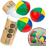 Weidebach® 3 Palline Giocoleria di qualità, Ø67 mm Juggling Balls incl. Tutorial Video, Palline giocoliere, Palline da giocoliere, Palle giocoliere, Palle da giocoliere, Palline da Giocoleria