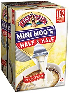 Mini Moo's Half & Half.5oz, 192/Carton, Sold as 1 Carton, 192 Each per Carton