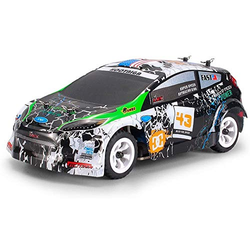 DBXMFZW RC Car K989, 2.4G Electric 4WD Off-Road Carring Coche 1/28 Escala Aleación Chassis de alta velocidad RC Vehículo Profesional Drifting RC Coche 30km / H Professional RC Racing Coche regalos par