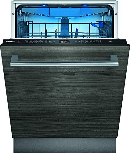 Siemens SX65ZX49CE iQ500 Vollintegrierter Geschirrspüler / C / 75 kWh / 2660 L/Jahr / Zeolith Trocknung / Smart Home kompatibel via Home Connect / glassZone im Oberkorb