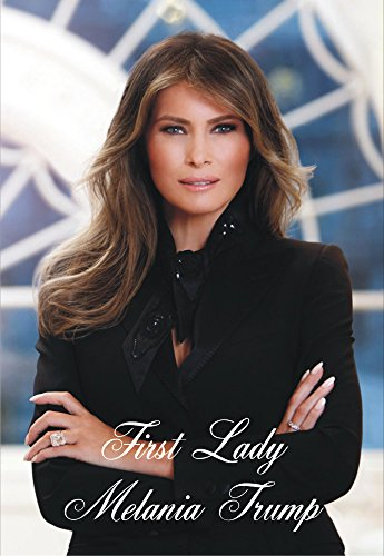 First Lady Of United States, Melania Trump, Wife Of President Donald Trump, Souvenir, Travel, Locker, Magnet 2 X 3 Fridge Magnet
