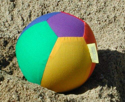 LUFTMATZ-Luftballonhülle, Baumwolle Durchm. ca. 19cm -6-farbig