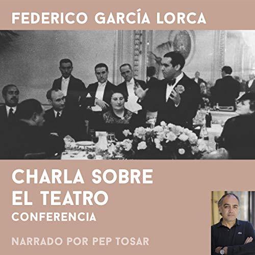 Diseño de la portada del título Charla Sobre el Teatro. Narrado por Pep Tosar