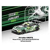 TARMACWORKS 1/64 メルセデスーAMG GT3 Macau GT Cup - FIA GT World Cup 2019 Winner 完成品