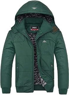 معطف رجالي ونسائي عصري سادة ❀ السيدات الخريف الشتاء مقاس كبير مبطن القطن معطف طويل الأكمام معطف رياضي خارجي
