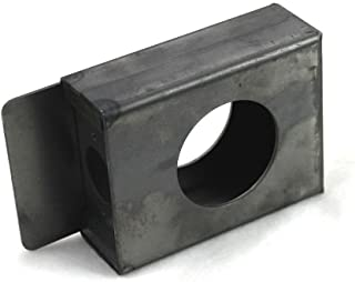 weldable lock box for cylindrical locks