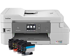 $119 » Brother RMFC-J995DW (Refurbished) INKvestmentTank Color Inkjet All-in-One Printer with Mobile Device and Duplex Printing, Up to 1-Year of Ink in-Box