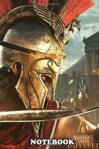 Notebook: Alexios From Creed Game From Ubisoft , Journal for Writing, College Ruled Size 6' x 9', 110 Pages