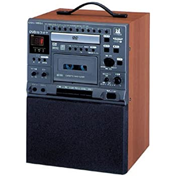 DENON CDV-550 DVDカラオケシステム 木目