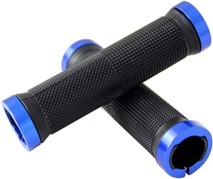 JF/_ MTB Bike Cycling Mountain Bicycle Anti-Skid Locking Handlebar Grip Cover C
