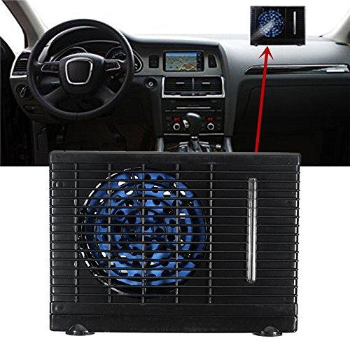 Sweetlife - Condizionatore d'aria per auto universale, da CC 12V, mini condizionatore d'aria portatile ad evaporazione per il raffreddamento dell'aria.