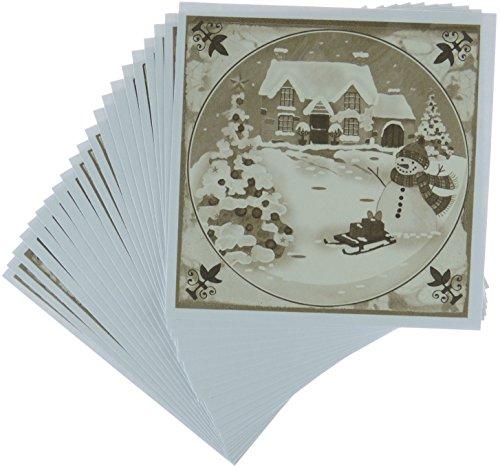 Marianne Design Mattie 2 pour Carte, Papier, Multicoloured, 12.6 x 10.5 x 0.5 cm